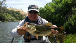 Kern River Bass Fly Fishing_Jose