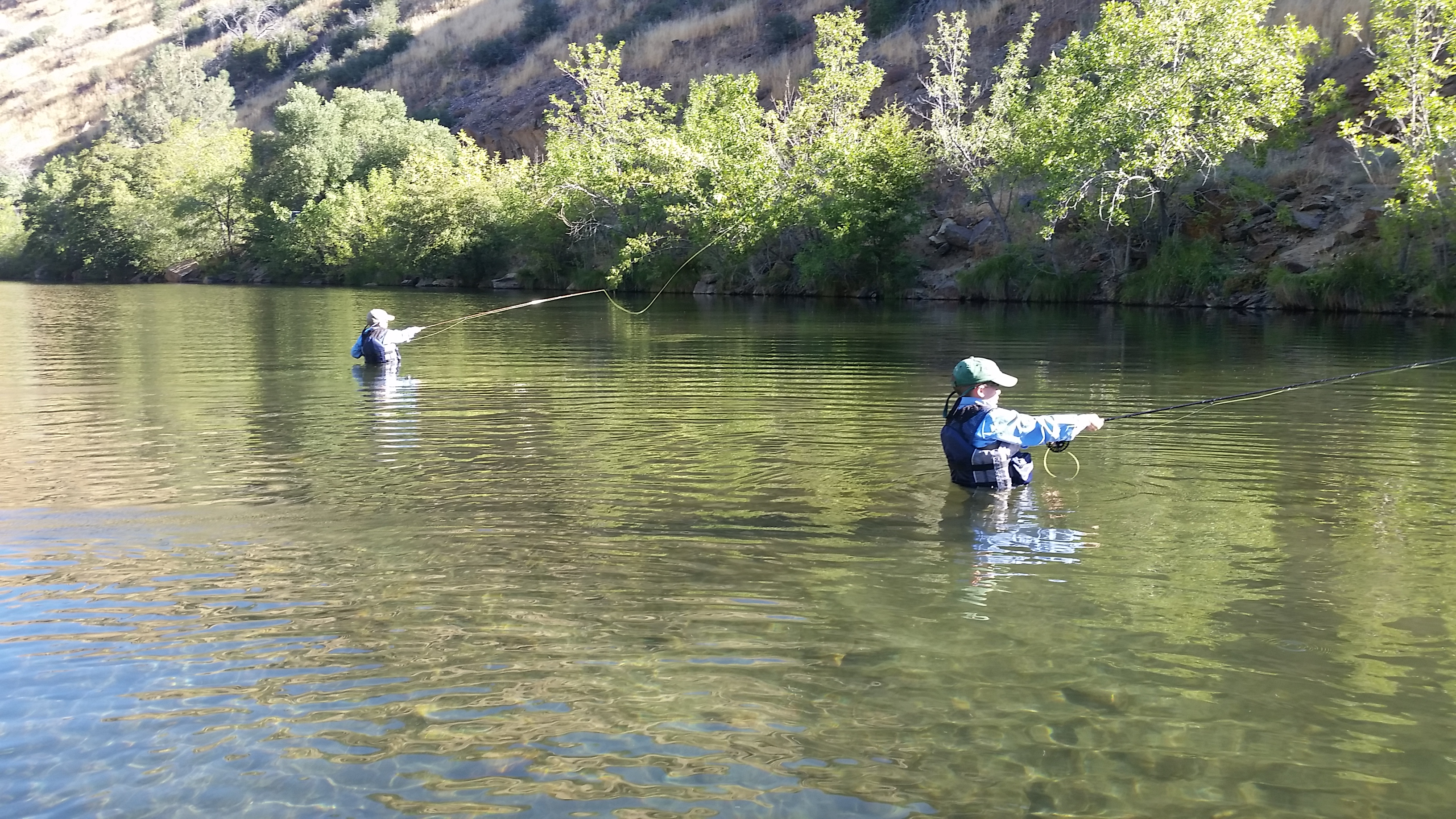 Section 8 bakersfield kern river fly fishing report for Bakersfield fishing report