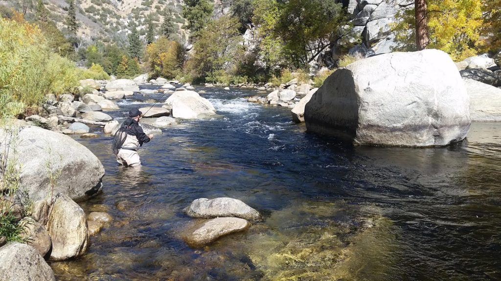 Kern River Fly Fishing with Guy Jeans