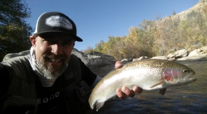 Kern River Fly Fishing Report November 9, 2016
