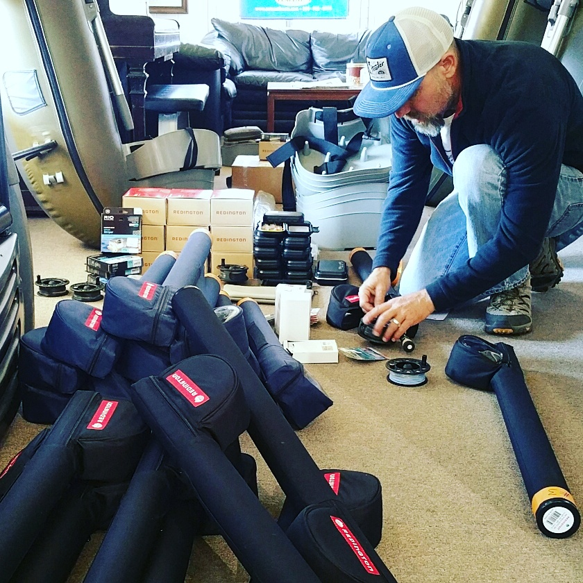 Guy getting for the Surf Clinic in Ventura Saturday November 19th 2017