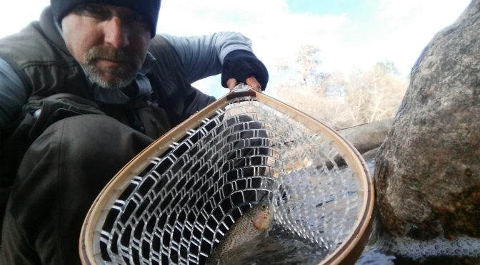 Kern River Fly Fishing Report December 24, 2016