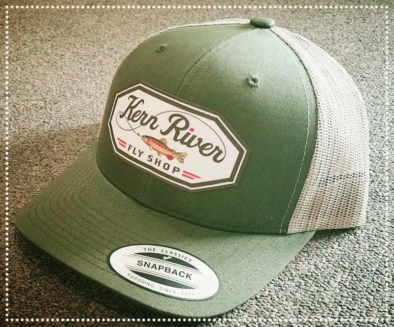 Kern river fly fishing reports your source for southern for Fly fishing cap