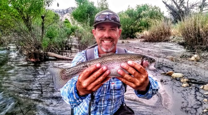 Kern River Fly Fishing Report July 23, 2017