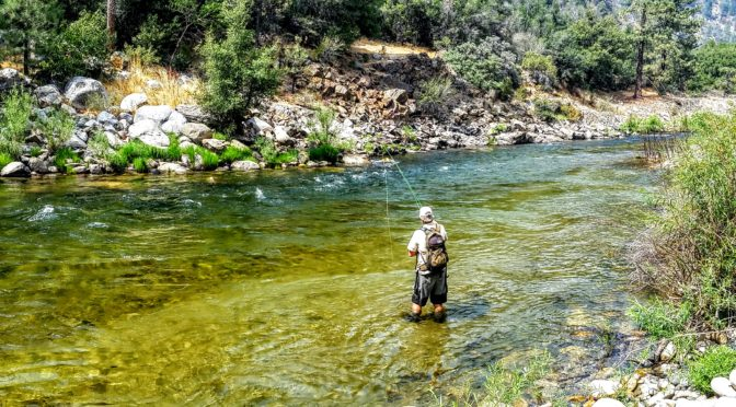 Kern River Fly Fishing Report September 5, 2017