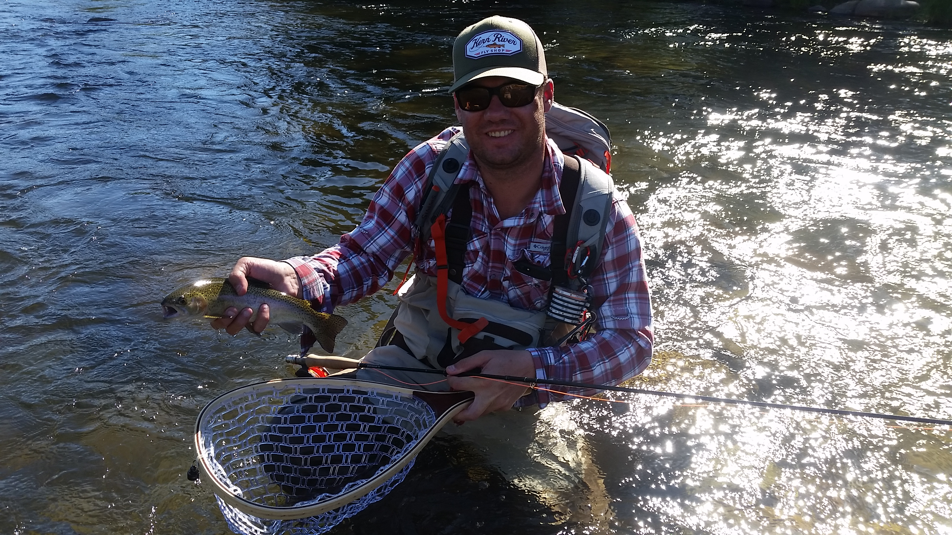 Kern river fly fishing reports your source for southern for Bass fishing from shore