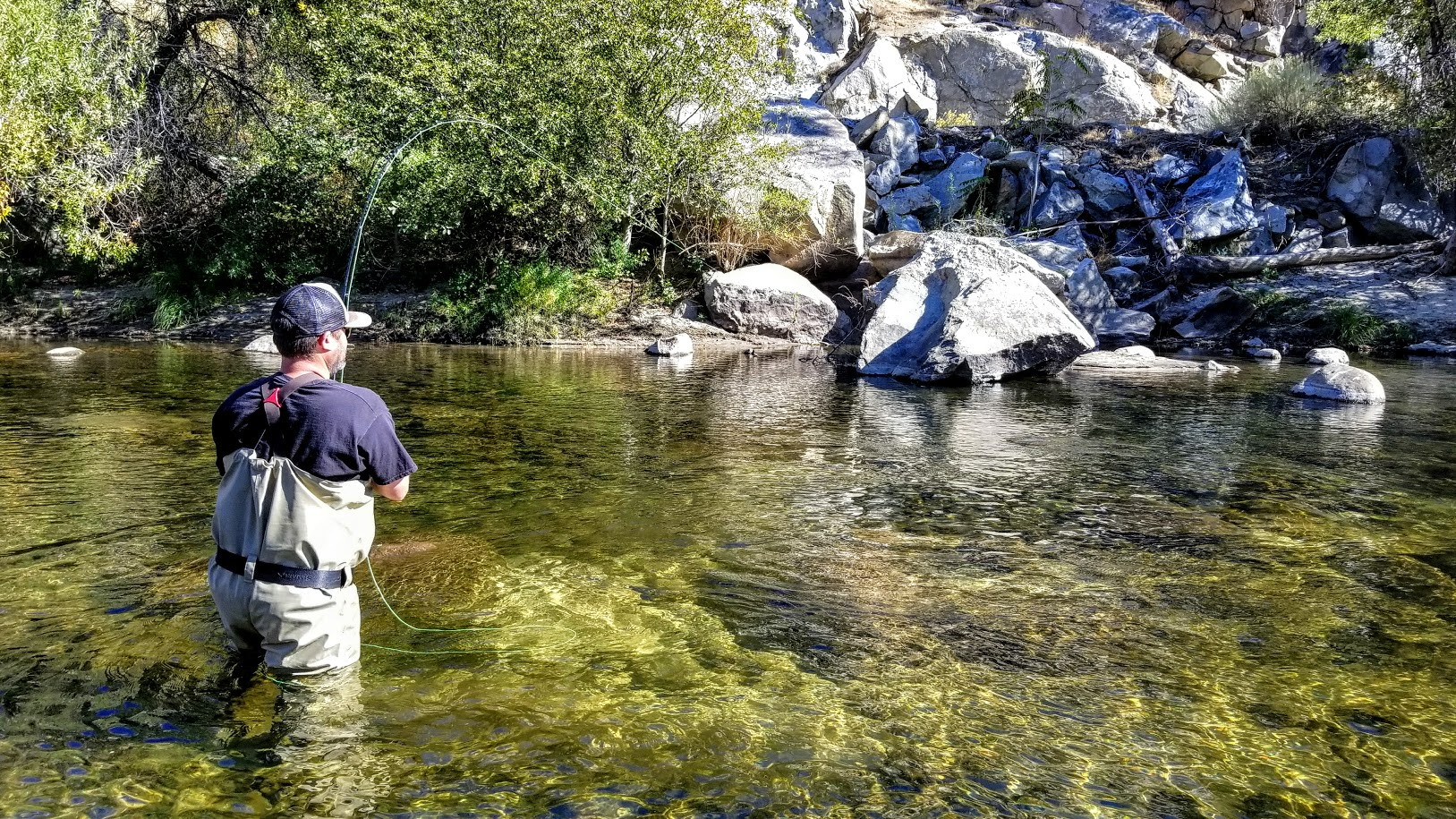 Kern river fly fishing report torn waders for Fly fishing blogs