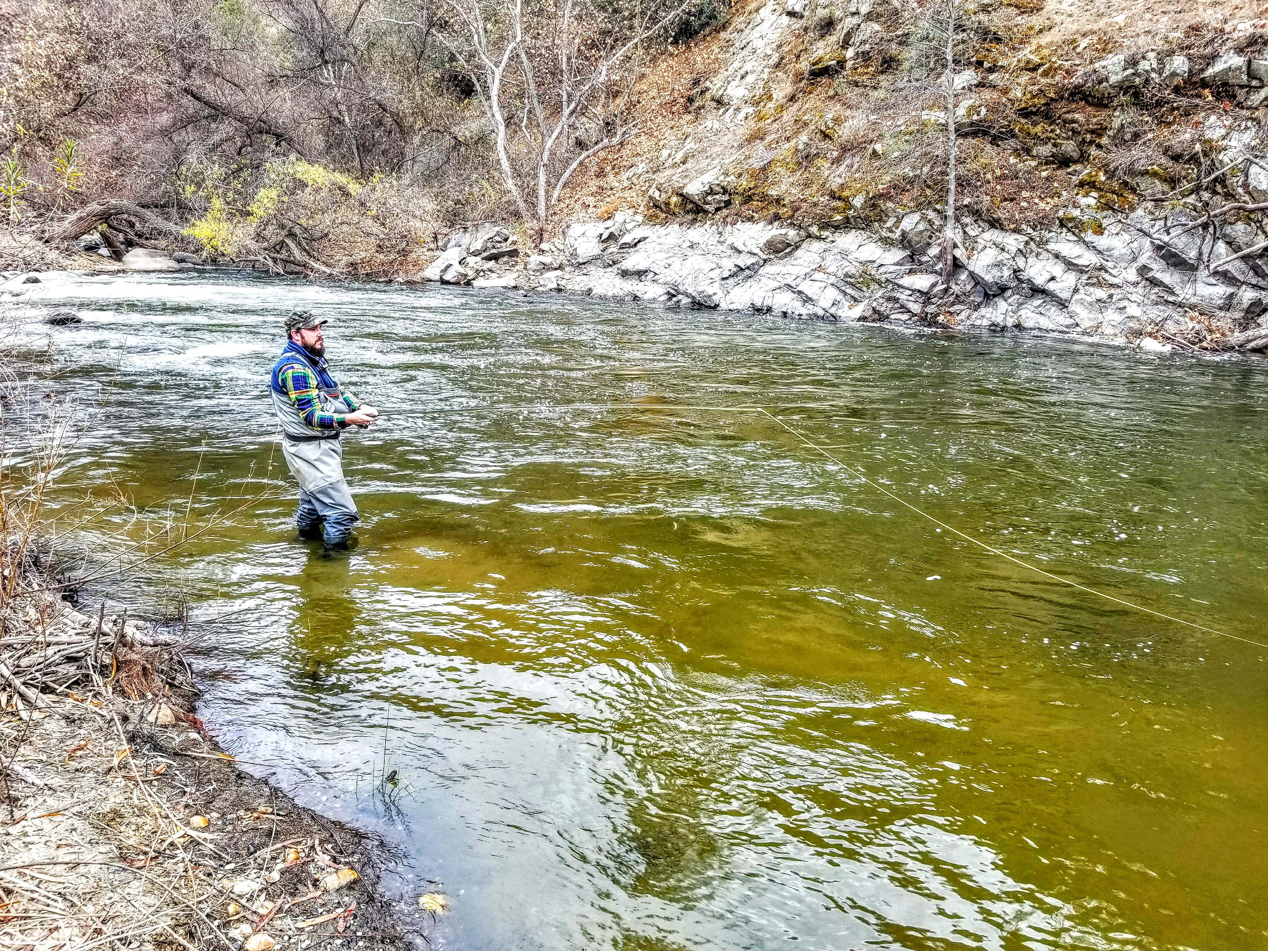 Kern River Fishing Report Of Kern River Fly Fishing Report January 2 2018 Torn Waders