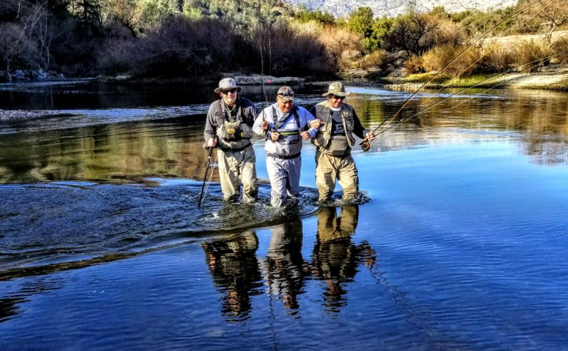 Kern River Fly Fishing Report January 23, 2018