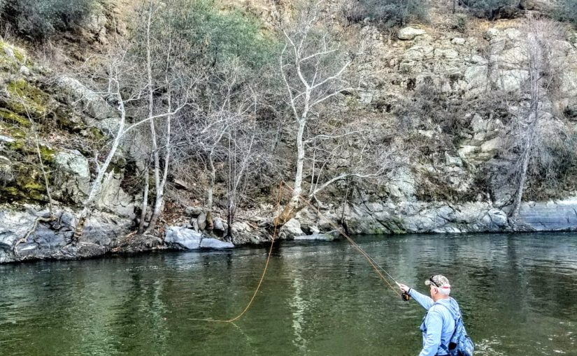 Kern River Fly Fishing Report January 30, 2018
