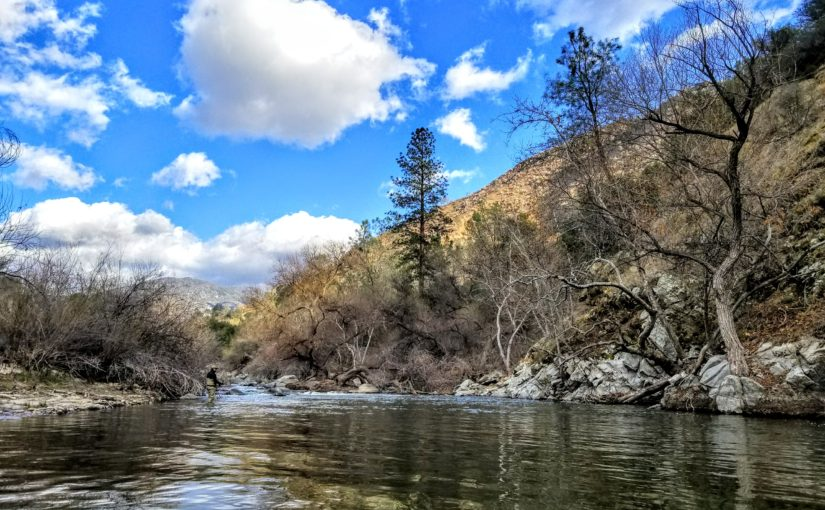 Kern River Fly Fishing Report February 27, 2018