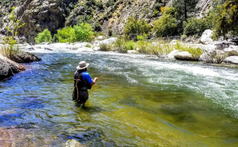 Kern River Fly Fishing Report May 25, 2018