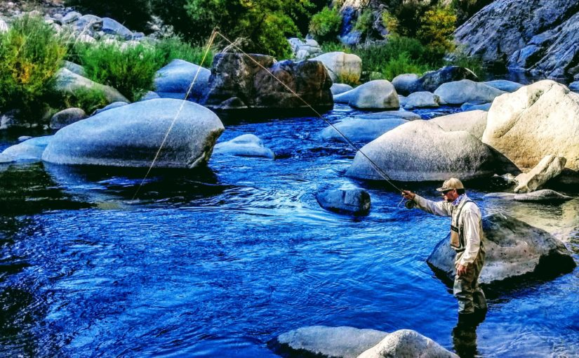 Kern River Fly Fishing Report December 18, 2018
