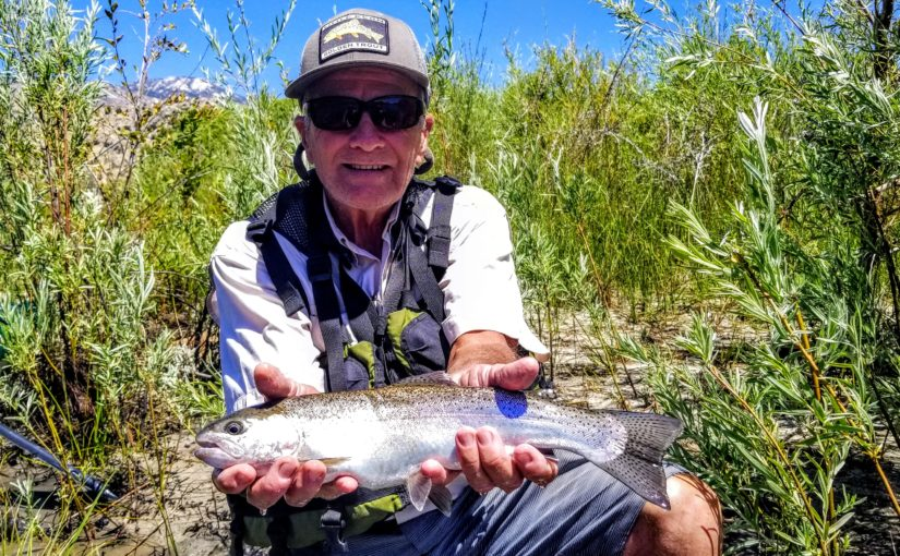 Kern River Fly Fishing Video Report August 15, 2019