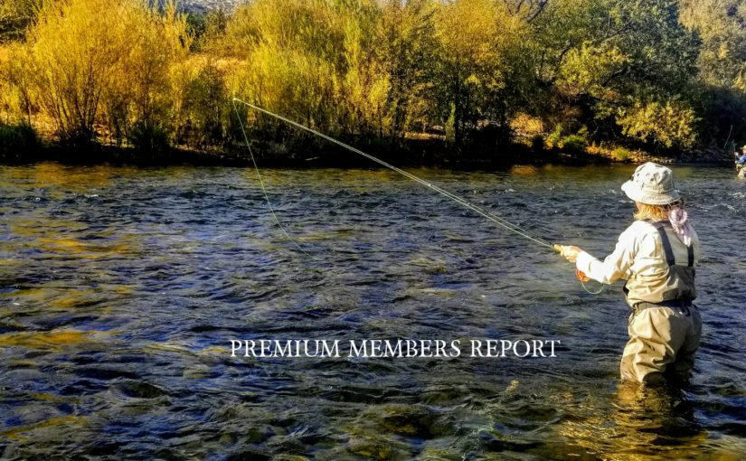 "Kern River Fly Fishing Report October 28, 2019 ""Premium Members Only"""
